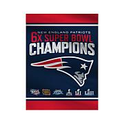 Officially Licensed NFL Super Bowl LIII Champion Home Flag - Patriots