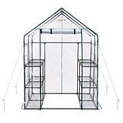 Ogrow Deluxe WALK-IN 6-Tier 12 Shelf Portable Greenhouse