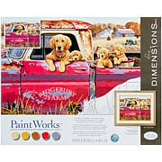 """Paint Works Paint By Number Kit 16"""" x 20"""" - Golden Ride"""