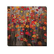 """""""Parade"""" Gallery-Wrapped Giclee Canvas Wall Art"""