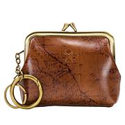 Patricia Nash Borse Leather Map Coin Purse