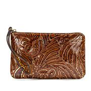 Patricia Nash Capri Leather Wristlet