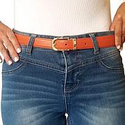 Perfect Match Women's 4-pack Reversible Leather Belt Set