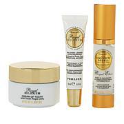 Perlier Royal Elixir Eye, Lip & Face 3-piece Set