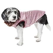 Pet Life Luxe Beautifur Elegant Boxed Faux Mink Dog Coat