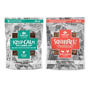 Phelps Wellness Collection  Keep Calm & Canine On and Squirrel Atte...