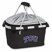 Picnic Time Portable Basket - Texas Christian Un.