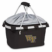 Picnic Time Portable Basket - Wake Forest University