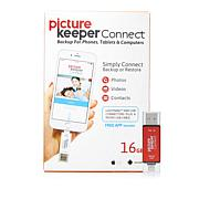 Picture Keeper CONNECT 16GB Smartphone Photo Saver and Storage