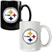 Pittsburgh Steelers 2pc Coffee Mug Set