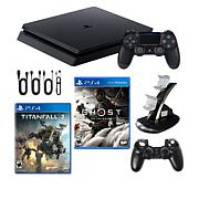 PlayStation 4 1 TB Slim Console with Titanfall 2 and Ghost of Tsushima
