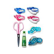 PLUS Adhesive Runner Variety Bundle and Scissors