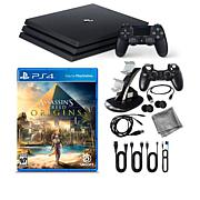"""PS4 Pro 1TB Console with """"Assassin's Creed"""" Game & Kit"""