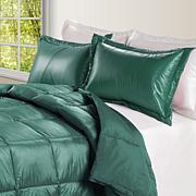 Puff Indoor/Outdoor Quilted Nylon Comforter - Twin