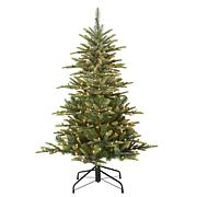 Puleo 4-1/2 ft. Pre-Lit Arctic Fir Artificial Christmas Tree