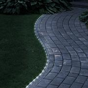 Pure Garden Solar-Powered LED Rope Lights