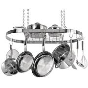 Range Kleen Stainless Steel Hanging Oval Pot Rack
