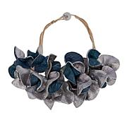 "Rara Avis by Iris Apfel Recycled ""Paper Mache"" Flower Necklace"