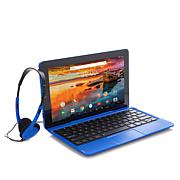 "RCA 11.6"" HD 32GB Quad-Core Android Tablet w/Keyboard and Headphones"