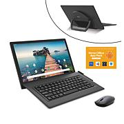 "RCA Lunamax 128GB 2-in-1 14"" Tablet with Mouse and Apps"