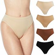 Rhonda Shear 4-pack Skintone Seamless Ahh Brief
