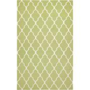 Rizzy Home Swing Hand Woven Dhurrie Rug Lime - 2' x 3'