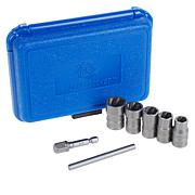 RocketSocket 7-pc Bolt, Nut and Screw Extractor Set