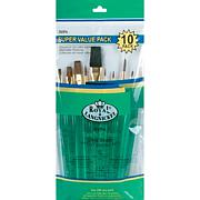 Royal Langnickel Sable/Camel 10-piece Brush Set