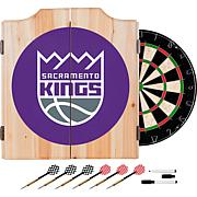 Sacramento Kings NBA Wood Dart Cabinet Set