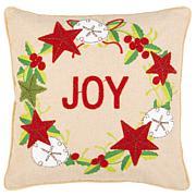"Safavieh 18"" x 18"" Jolly Joy Pillow"