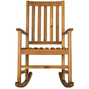 Safavieh Barstow Rocking Chair - Teak Brown Finish