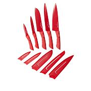Safe-T-Grip 10-piece Knife Set with Sheaths