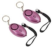 Samurai Safety Alarm Keychain 2-pack