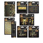 Sara Signature Black & Gold Papercraft Collection