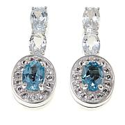 Sevilla Silver™ Interchangeable Gemstone Drop Earrings