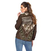 Sheryl Crow Embroidered Military Jacket