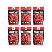Simple Kitchen 6-pack Freeze-Dried Strawberries AS