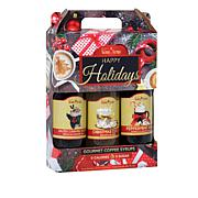 Skinny Syrups Sugar-Free Coffee Syrup Holiday Trio