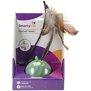 SmartyKat FeatherWhirl Electronic Motion Ball Toy