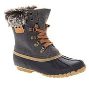 Sporto® Dee Dee Waterproof Laced Duck Boot