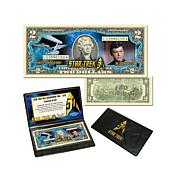 "Star Trek 50th Anniversary $2 Bill - Dr. ""Bones"" McCoy"