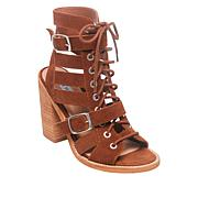 Steve Madden Suede/Leather Cut-Out Cecilia Sandal
