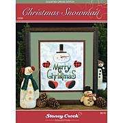 Stoney Creek Chart Pack - Christmas Snowman