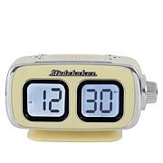 Studebaker SB3500 Retro Digital Clock Bluetooth Radio with Dual Alarm
