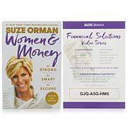 Suze Orman Women & Money Hand-Signed Book + Financial Solutions Series
