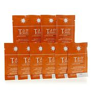 TanTowel® Half Body Dark Self Tan Towelette 10-pack