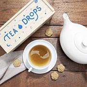 Tea Drops 25 Servings in Large Wooden Box - Citrus Ginger
