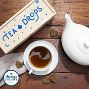 Tea Drops 25 Servings in Large Wooden Box - Sweet Peppermint