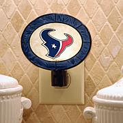 Team Glass Nightlight - Houston Texans