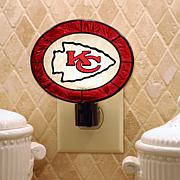 Team Glass Nightlight - Kansas City Chiefs